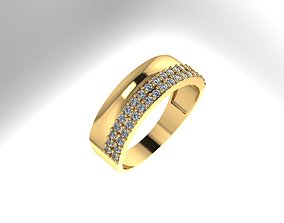 RINGS silver 3D printable model