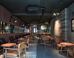 3D model cofe AQ ECP Coffee House