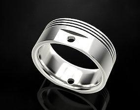 3D printable model Ring Engine Piston design