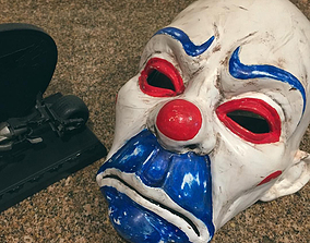 3D print model Henchmen Clown Mask Dark Knight Cosplay 1