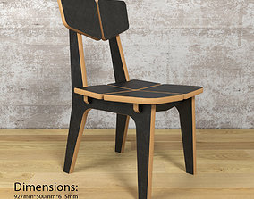 3D model Chairs ColorSet Domino mimi