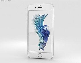 3D model Apple iPhone 6s Silver 4