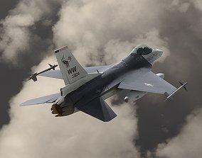 F16C USA 3D asset rigged