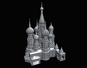 3D print model Saint Basil Cathedral Moscow