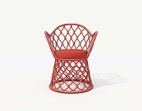 3D model TIDELLI PAINHO AIRCHAIR