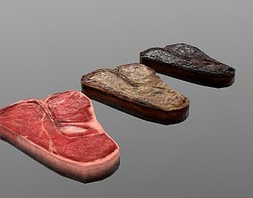 3D asset T-bone Steak
