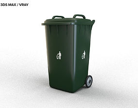 container 3D model TRASH BIN