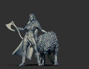 figure 3D print model Motherwolf 35mm scale