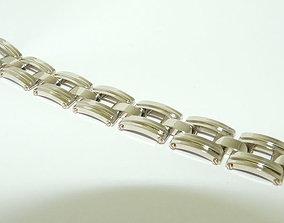 bracelet and lock jewelry 3D print model
