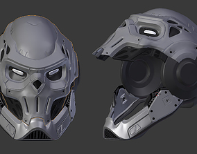 spider man taskmaster helmet 3D printable model