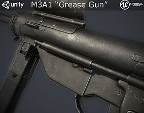 M3A1 Grease Gun 3D asset