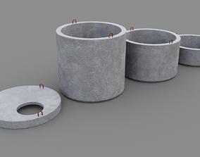 Well rings 3D