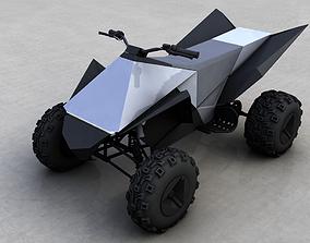 TESLA CYBERQUAD ATV 2019 3D
