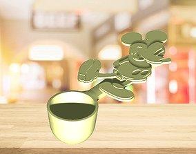 3D print model Mickey Measure Spoon