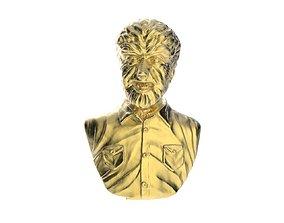 Wolfman Torso 3D printable model