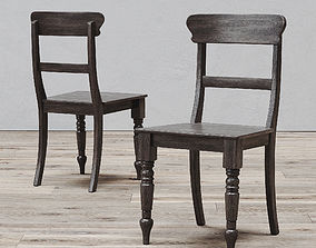 3D 19TH C ENGLISH SCHOOLHOUSE SIDE CHAIR