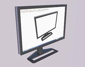 HP ZR30w Monitor 3D