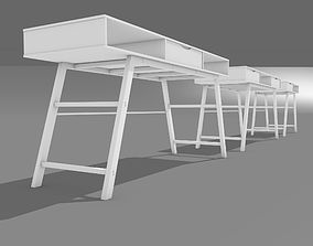 Office table 3D modern
