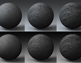 3D model Displacement Landscape Shader 037