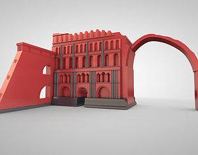 Taq Kasra Persian Temple and Palace 3D model
