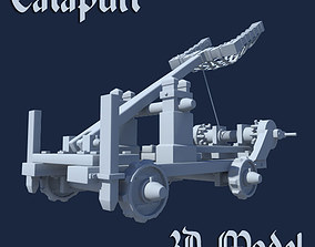 Catapult military 3D
