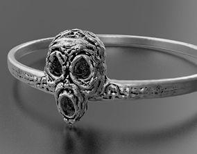 Halloween ring 3D print model