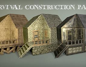 Survival construction pack 3D model