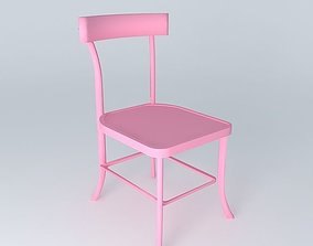 3D Pink Chair BISTROT houses the world