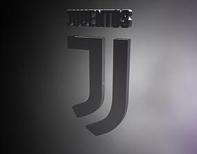 3D model Juventus logo