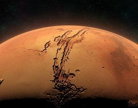 3D Mars - High Poly Sculpted Model