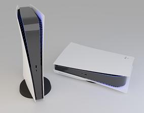 Playstation 5 and Playstation 5 Digital 3D asset