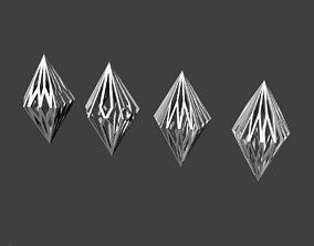 Diamond Pendant 2 3D print model