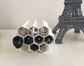 3D printable model Cable management Hive