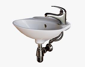 3D model Compact Sink PBR