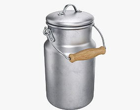 Milk can small 3D