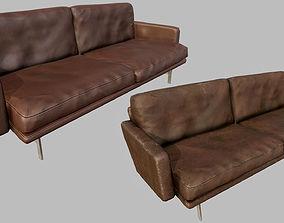 3D asset Design Couch 01 - PBR