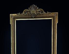 architecture mirror frame 3D model
