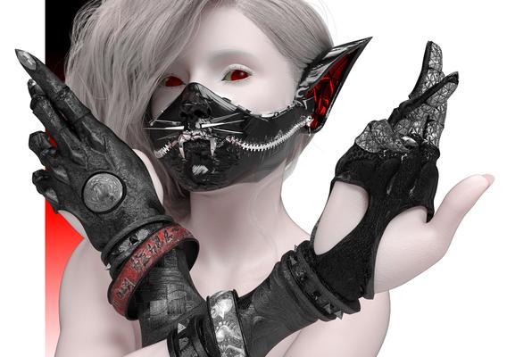 Kotomask gloves