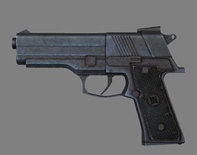 Weapon Pistol shotgun 3D model
