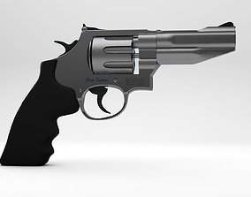 Smith And Wesson Revolver Pro Series 3D model revolver