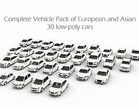 3D asset Complete Vehicle Pack EA