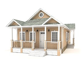 3D model Cottage 87