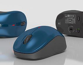 Bluetooth mouse Logitech v470 3D model
