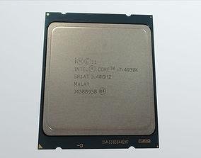 3D model Intel i7 4930K