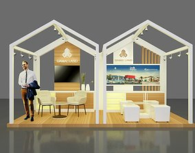 Booth 5x3 3D model