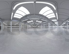 3D asset HDRI - Industrial Warehouse Interior 2