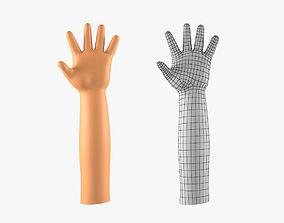 Child Hand Basemesh 3D model