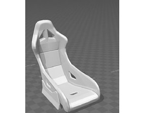 rc drift car 1 10 scale seat 3D printable model