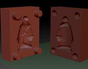 3D print model statuette