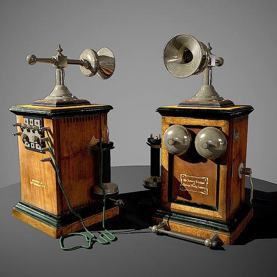 Bell telephone company, desktop.